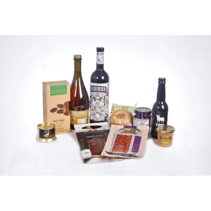 Caja Gourmet Tapas con Vino
